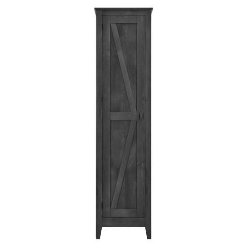 "18"" Brookside Wide Storage Cabinet Dark Gray Wash - Room & Joy - image 1 of 4"