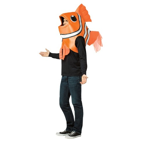 Clown Fish Headpiece Adult Costume - image 1 of 1
