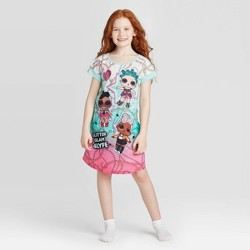 Girls' L.O.L Surprise! Dorm Gown - Mint Green
