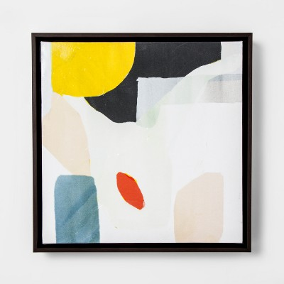 Abstract Framed Wall Art - Yellow - Project 62™