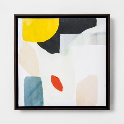 Abstract Framed Wall Art - Yellow - Project 62™ : Target