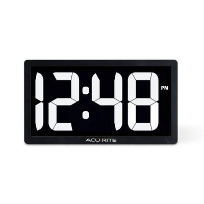 """10"""" Digital Led Clock - AcuRite"""