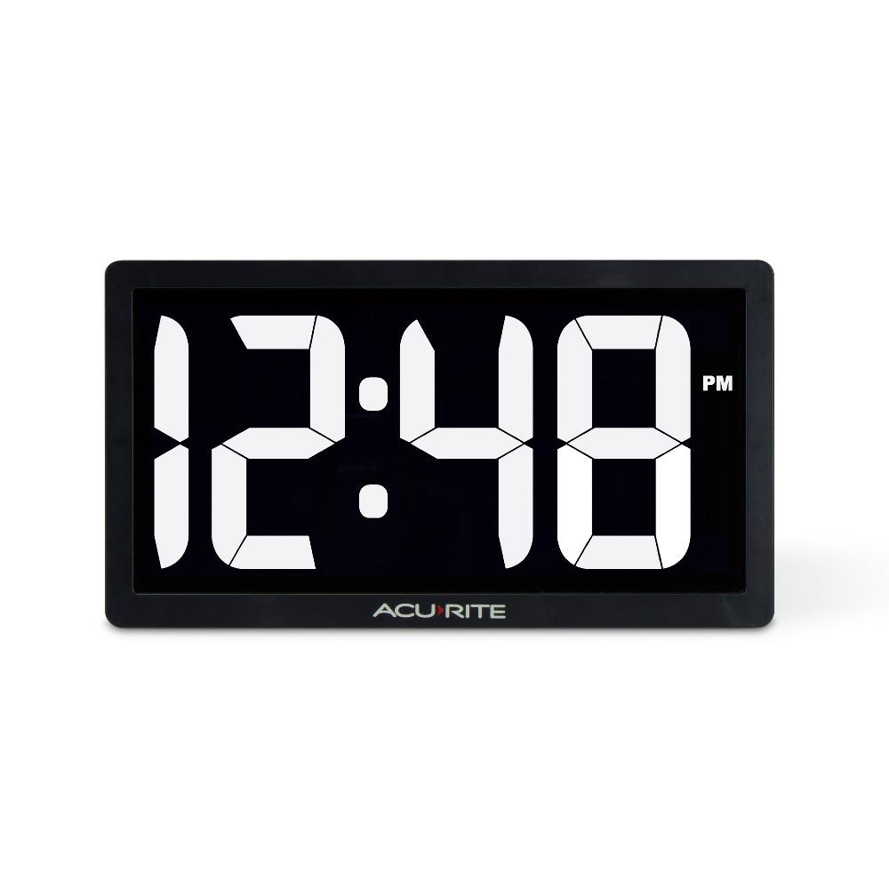 Image of 10 Digital Led Clock White - AcuRite