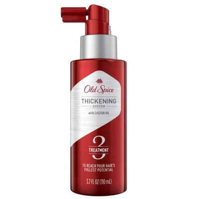 Old Spice Thickening System Treatment for Men Infused with Castor Oil - 3.7 fl oz