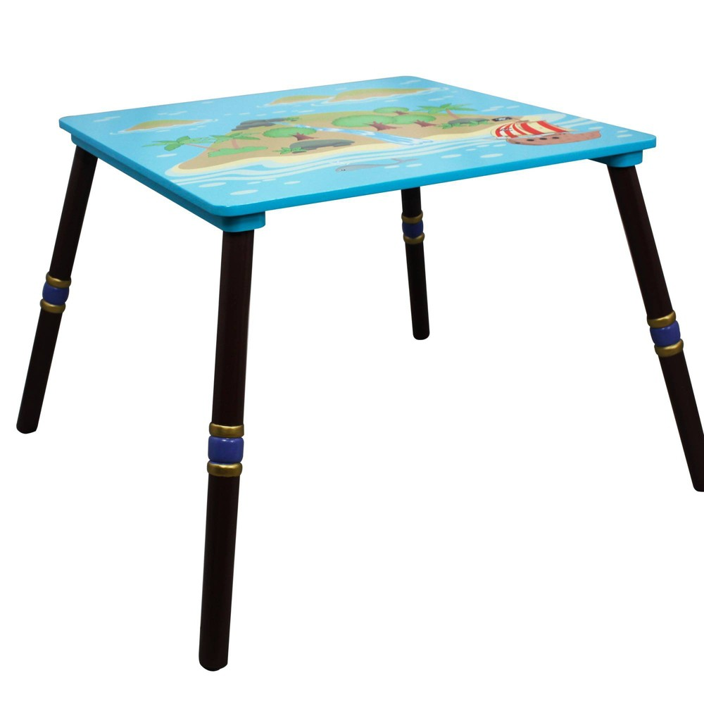 Image of Pirate Island Fantasy Fields Table - Teamson Kids