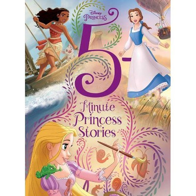 Disney Princess 5 Minute Princess Stories -  (5 Minute Stories) (Hardcover)