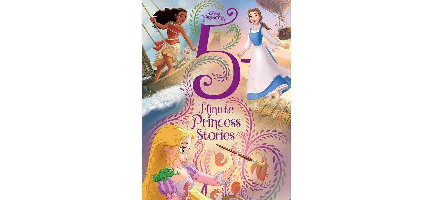 Disney Princess 5 Minute Princess Stories - (5 Minute Stories) (Hardcover) - image 1 of 2