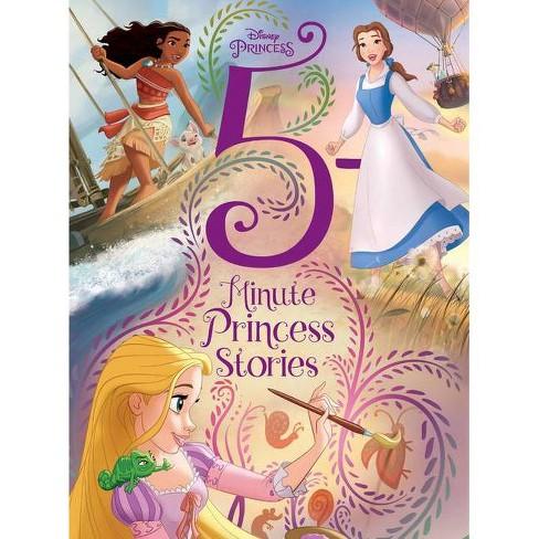 Disney Princess 5 Minute Princess Stories -  (5 Minute Stories) (Hardcover) - image 1 of 1