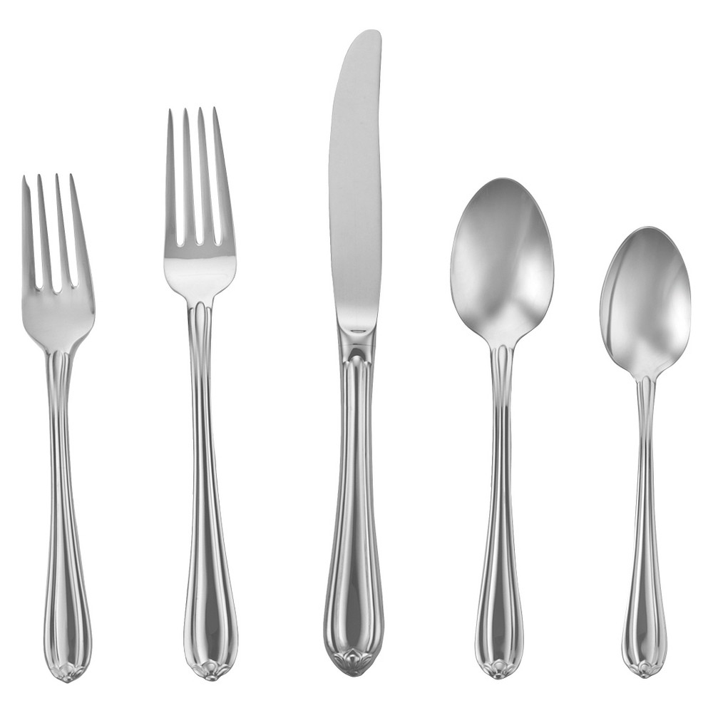 Image of Gorham Melon Bud 5-pc. Silverware Set
