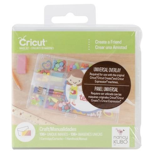 Cricut Shape Cartridge- Create A Friend