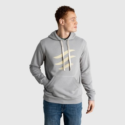 Men's United By Blue Organic Logo Waves Graphic Hoodie