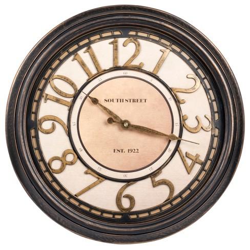 "16"" Waltham Raised Dial Wall Clock - Waltham - image 1 of 2"