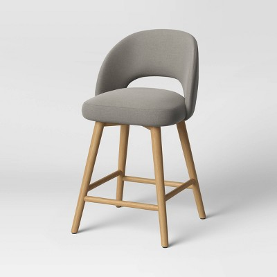 Galles Mid-Century Upholstered Counter Height Stool - Project 62™
