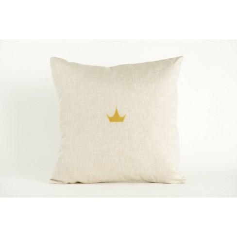 Disney Princess X POPSUGAR Crown Decor Pillow - image 1 of 4