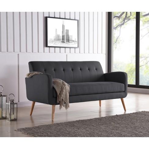 Kenneth Mid Century Modern Sofa Handy Living Target