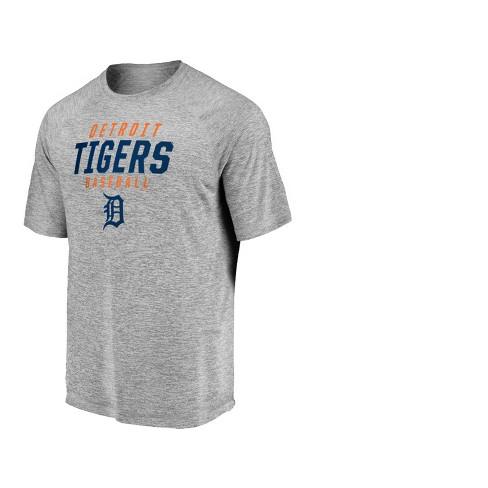 MLB Detroit Tigers Men's Mad Dash Gray Athleisure T-Shirt - image 1 of 3