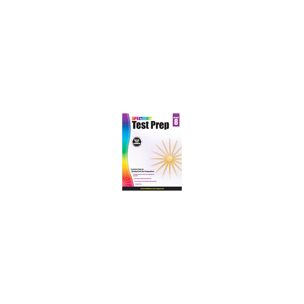 Spectrum Test Prep Grade 8 (Workbook) (Paperback)