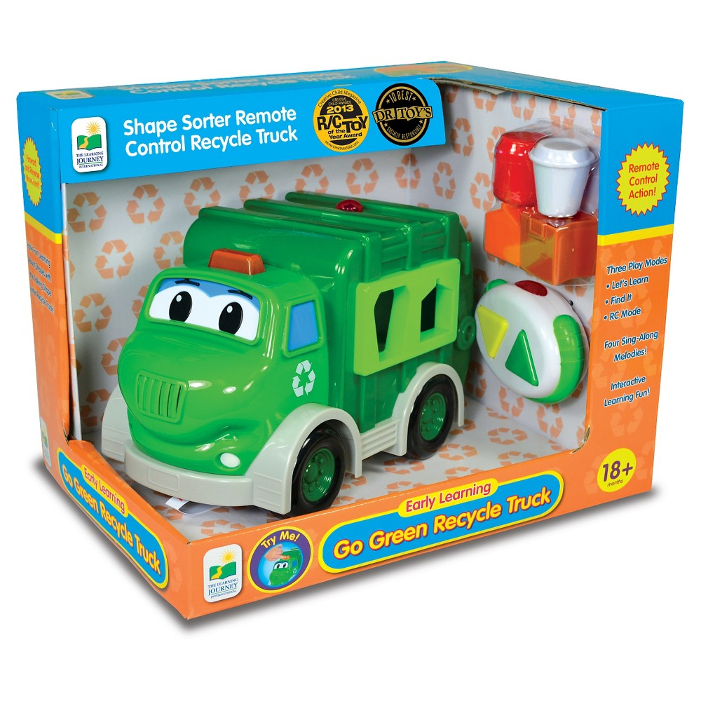 The Learning Journey Remote Control Shape Sorter, Recycle Truck