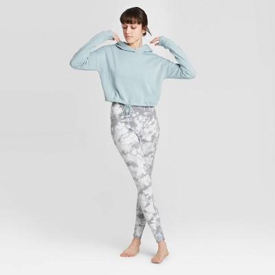 Women's Tie-Dye Leggings - Colsie™ Gray S