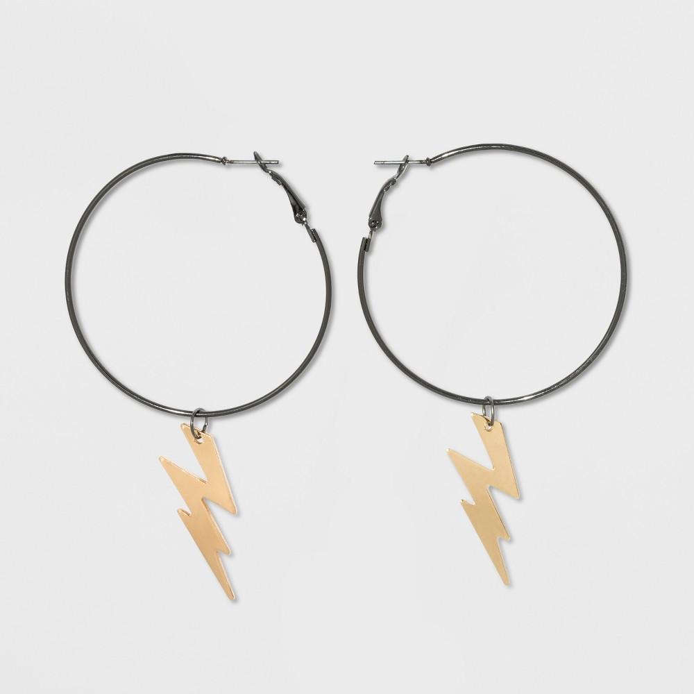 Lightning Bolt Hoop Earrings - Wild Fable, Multi-Colored