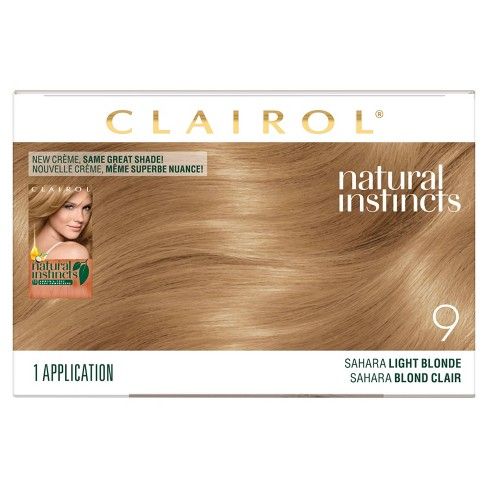 Clairol Natural Instincts Ammonia Free Hair Color Light Golden Red