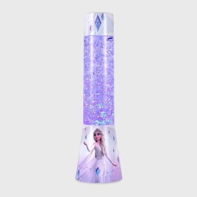 Frozen Elsa Ice Glitter Motion Lamp