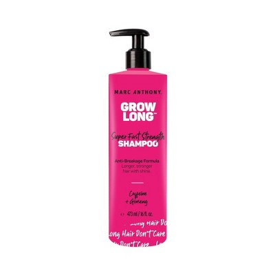 Marc Anthony Grow Long Biotin Shampoo for Dry Damaged Hair, Sulfate Free - 16 fl oz