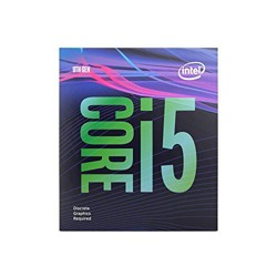 Intel Core i5-9400F Desktop Processor  -  6 cores & 6 threads - Up to 4.1 GHz - 9th Generation - Discrete GPU required