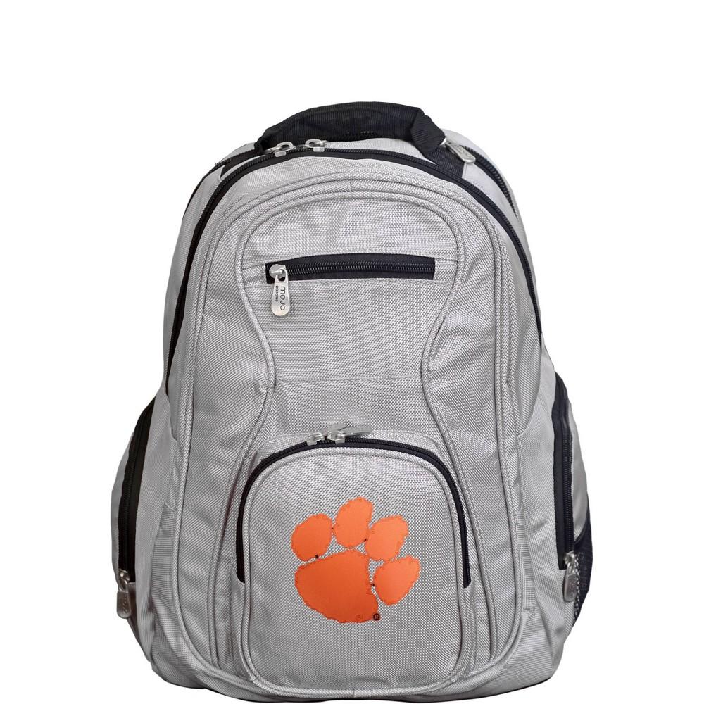 NCAA Clemson Tigers Gray Premium Laptop Bag