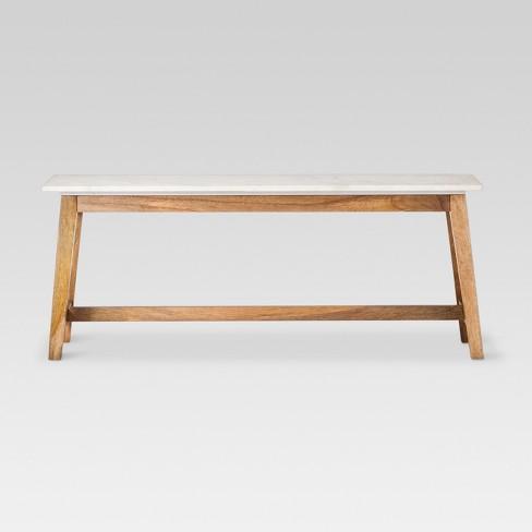 Lanham Coffee Table White Threshold