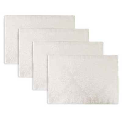 "4pk 13""X19"" Lexington Placemats White - Town & Country Living"