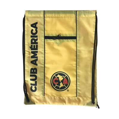 """FIFA Club America Officially Licensed Drawstring 18"""" Backpack"""