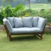 Westlake Convertible Sofa Daybed with Cushion - Cambridge Casual - image 3 of 4