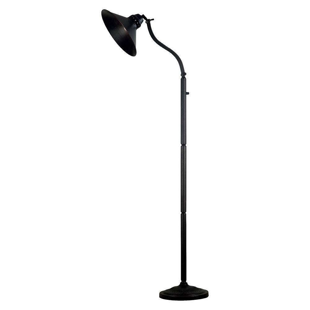 Image of 3-way Kenroy Amherst Adjustable Floor Lamp