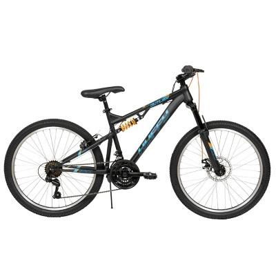 "Huffy Outlier 24"" Kids' Mountain Bike - Black"
