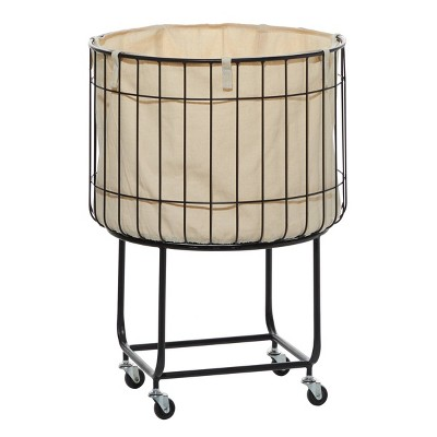 26 x 19 Contemporary Metal Storage Cart Color May Vary