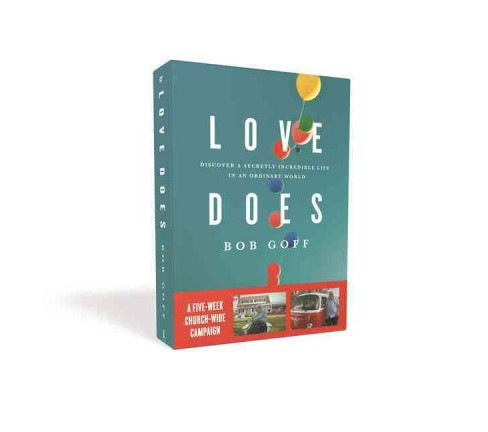 Love Does Church : Discover a Secretly Incredible Life in an Ordinary World (Paperback) (Bob Goff) - image 1 of 1
