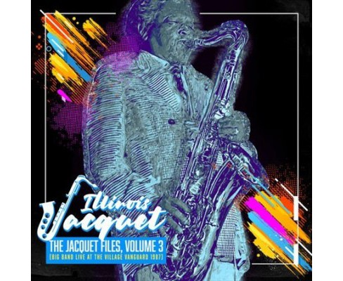 Illinois Jacquet - Jacquet Files:Vol 3 Big Band Live At (CD) - image 1 of 1