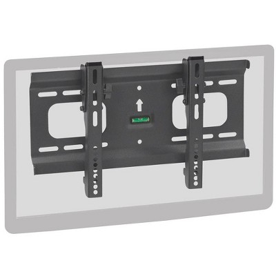 Monoprice Ultra-Slim Tilt TV Wall Mount Bracket For TVs 32in to 55in | Max Weight 165lbs, VESA Patterns Up - Stable Series