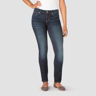 DENIZEN® from Levi's® Women's Mid-Rise Slim Jeans - Dark Wash 4 Short