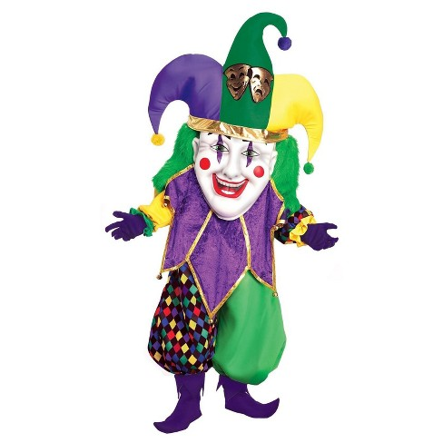 Parade Jolly Jester Adult Costume - image 1 of 1
