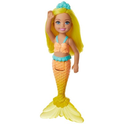 Barbie Dreamtopia Chelsea Mermaid Yellow Hair Doll