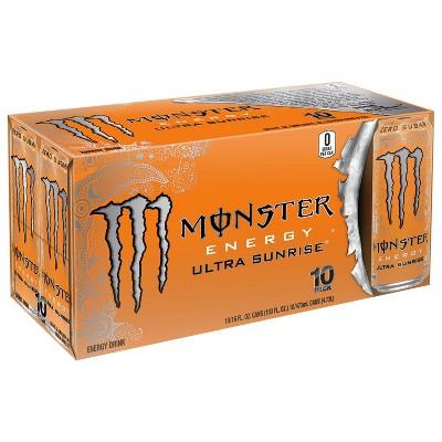 Monster Energy, Ultra Sunrise - 10pk/16 fl oz Cans