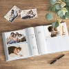 """4"""" x 6"""" Marble Photo Album with Frame Front White 2 Per Page - Threshold™ - image 2 of 3"""