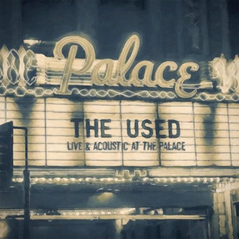 Used - Live & Acoustic At The Palace (CD) - image 1 of 1