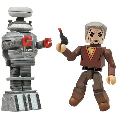 Diamond Comic Distributors, Inc. Lost in Space Dr. Smith and B9 Robot 2-Pack Minimates Figure