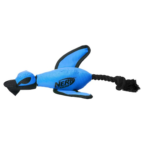 NERF® Duck Flyer Dog Toy - Blue - image 1 of 2