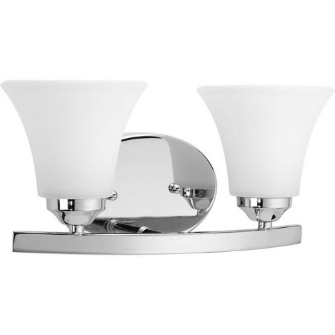 "Progress Lighting P2009 Adorn 2 Light 13-1/4"" Wide Bathroom Vanity Light - image 1 of 2"