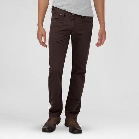 65e7e77ae900 Dickies® Men's Slim Fit 5-Pocket Pants Dark Brown 36X32 : Target