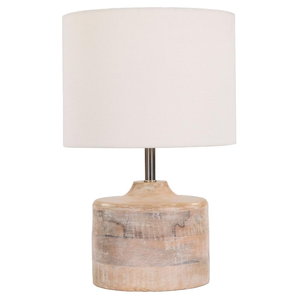 Burcham Table Lamp White - Surya